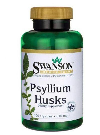 Swanson Psyllium Husks 610 mg 100 KApseln