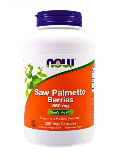 Now Foods Saw Palmetto Beere 550 mg 250 Veg Kapseln