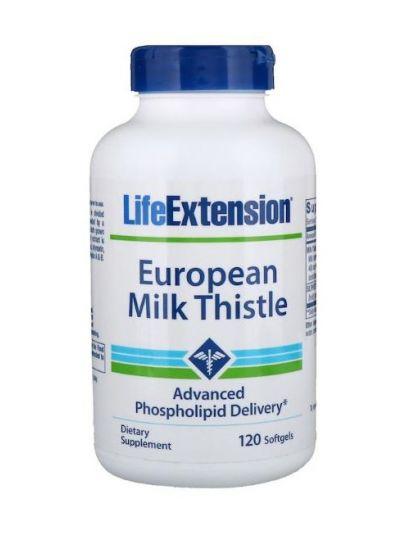 Life Extension Europäische Mariendistel 120 Softgels