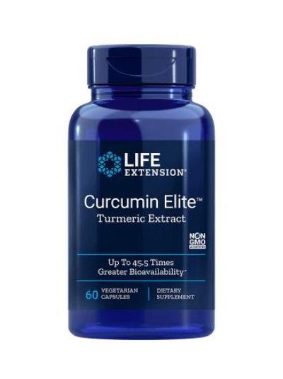 Life Extension CURCUMIN ELITE™ TURMERIC EXTRACT 60 vegetabilische Kapseln