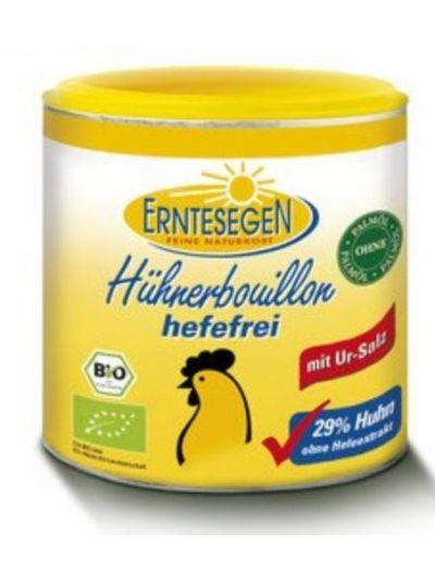 Erntesegen Naturkost Hühner-Brühe (Bouillon), hefe-frei (ergibt 6L) 120g