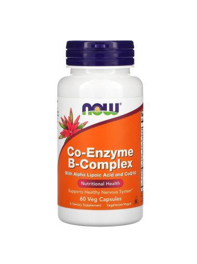 Now Foods Coenzym B-Komplex, 60 Vegetabilische Kapseln