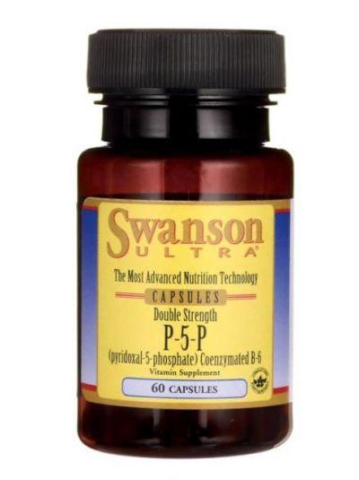 Swanson Vitamin B6 (Pyridoxal-5-Phosphate) 40mg 60 Kapseln