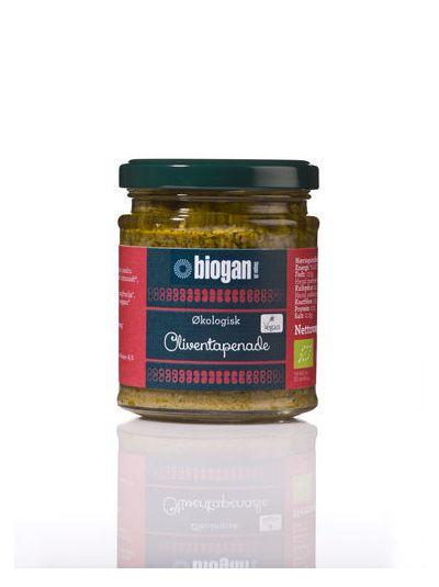 Biogan Grünes Oliven-Pesto BIO 190 gr