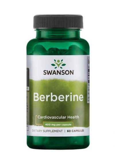 Swanson Berberin 400 mg 60 Kapseln