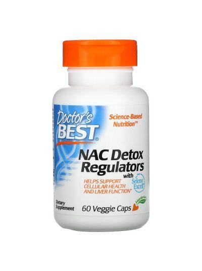 DOCTOR'S BEST NAC N-ACETYL-CYSTEIN DETOX REGULATOR 60 VEGGIE CAPS