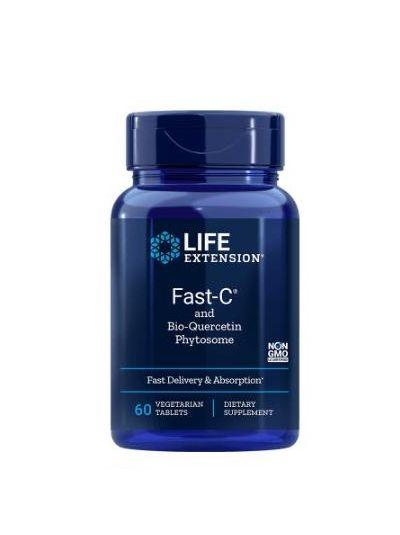 Life Extension, Fast-C und Bio-Quercetin-Phytosom, 60 vegetarische Tabletten