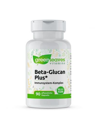 Green Leaves BETA-GLUCAN PLUS 90 Kapseln