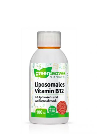 Green Leaves Liposomales Vitamin B12, 2500 mcg 100 ml