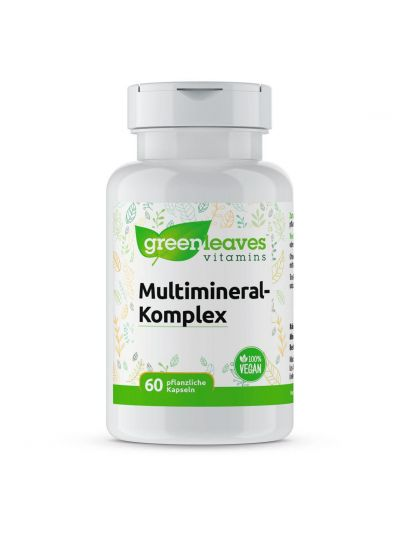 Green Leaves Multimineral Komplex 60 Kapseln