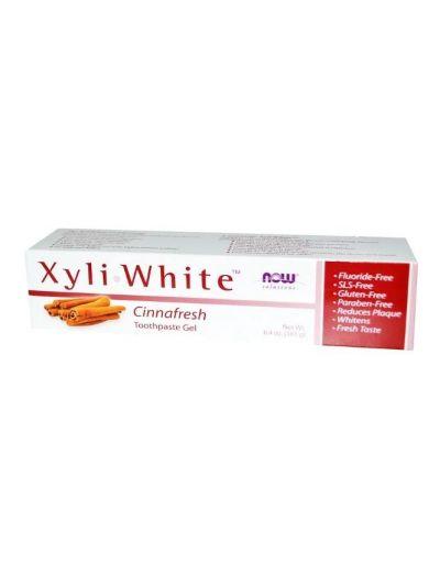 Now Foods Xyliwhite Gel-Zahnpasta Zimtfrische 181 g