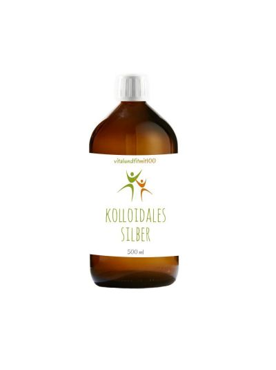 Vitalundfitmit100 Kolloidales Silber (Silberwasser) 500 ml