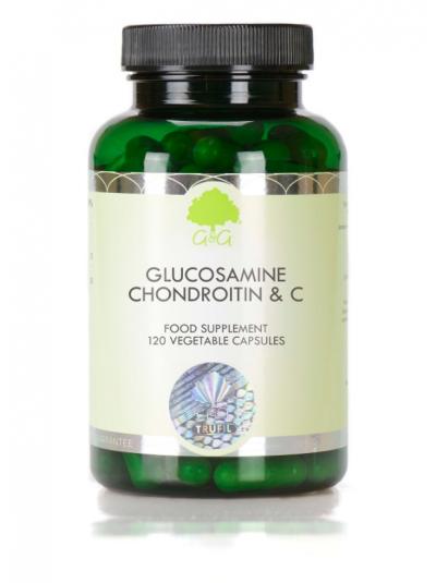 G&G VITAMINS GLUCOSAMIN, CHONDROITIN & VITAMIN C - 120 KAPSELN