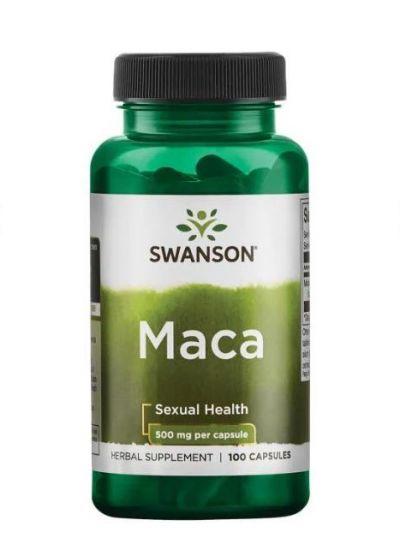 Swanson Maca 500 mg 100 Kapseln