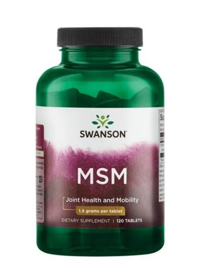 Swanson MSM (Methylsulfonylmethan) 3000mg 120 Tabletten
