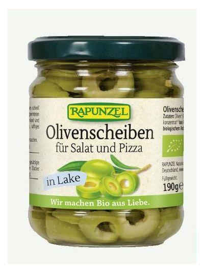 Rapunzel Olivenscheiben für Salat und Pizza 190 g