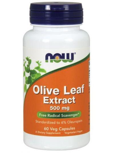 Now Foods Olivenblätterextrakt, 500 mg 60 Veg-Kapseln