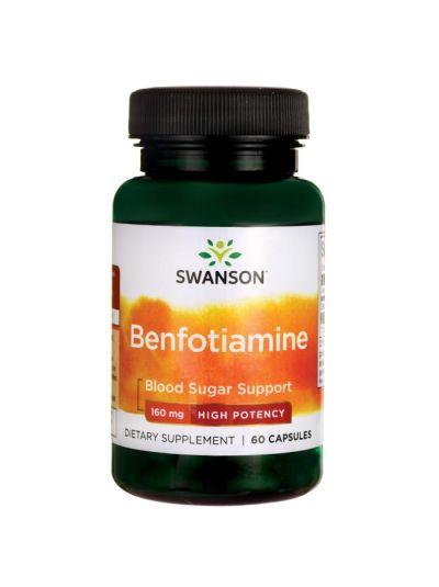 Swanson Benfotiamine 160 mg 60 Kapseln