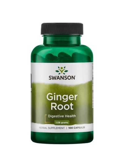 Swanson Ingwerwurzel 540 mg 100 Kapsel