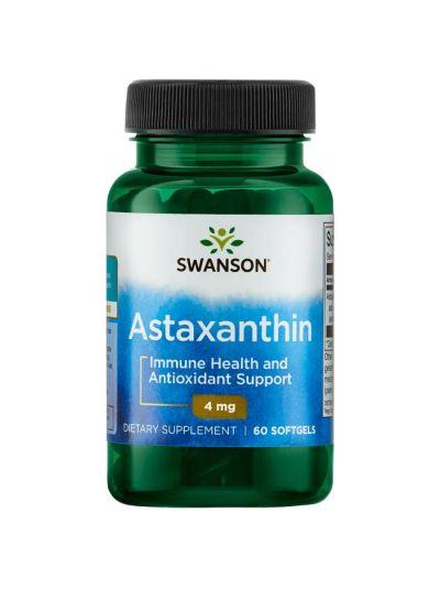 Swanson Astaxanthin 4 mg 60 Kapseln