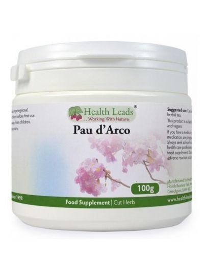 Health Leads PAU D'ARCO GESCHNITTENE KRÄUTER 100G