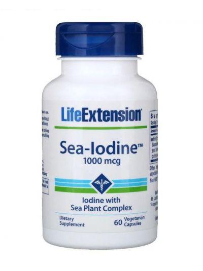 Life Extension Meer-Jod, 1000 mcg 60 Veggie-Kapseln