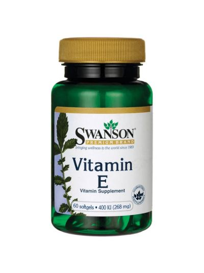 swanson vitamin E 400 IU 60 Kapseln
