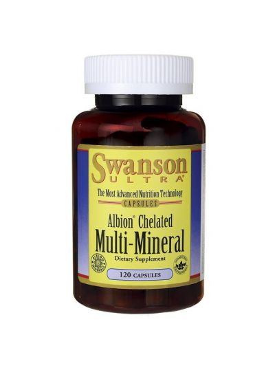 Swanson Albion Chelatisiert / Elemantares Multi-Mineral 120kaps
