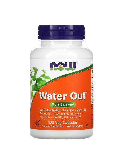 Now Foods, Wasser Raus (Water Out), Flüssigkeitsgleichgewicht, 100 vegetabilische Kapseln